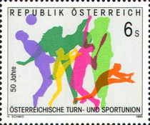 [The 50th Anniversary of the Austrian Gymnastics and Athletics Union, Typ BMF]