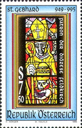 [The 1000th Anniversary of the Death of St. Gebhard, Typ BMS]