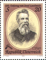 [The 100th Anniversary of the Death of Josef Loschmidt, Typ BMU]