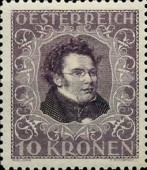 [Austrian Composers - Charity Stamps, Typ BN]