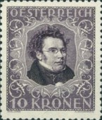 [Austrian Composers - Charity Stamps, Typ BN1]