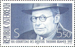 [The 100th Anniversary of the Birth of Theodor Kramer, Typ BOU]
