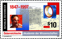 [The 150th Anniversary of the Austrian Academy of Sciences, Typ BOW]