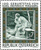 [The 100th Anniversary of the Birth of Karl Heinrich Waggerl, Typ BPM]