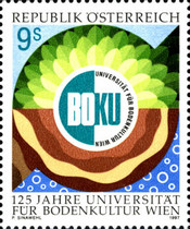 [The 125th Anniversary of the University of Agriculture Vienna, Typ BPQ]