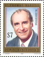 [The 65th Anniversary of the Birth of Federal President Dr. Thomas Klestil, Typ BPW]