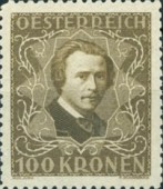 [Austrian Composers - Charity Stamps, Typ BQ1]