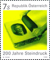 [The 200th Anniversary of the Invention of Lithography, Typ BQH]