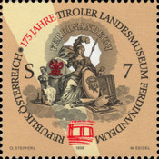 [The 175th Anniversary of the Foundation of the Federal Museum of Tyrol named Ferdinandeum, Typ BQO]
