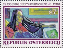 [The 25th Anniversary of the Death of Christine Lavant, Typ BQT]