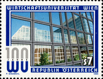 [The 100th Anniversary of the Foundation of the Vienna University for Economics, Typ BQZ]