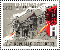 [The 350th Anniversary of the Town-Charter of Eisenstadt, Typ BRD]