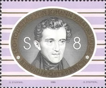 [The 150th Anniversary of Johann Strauss, the Elder, Typ BRM]