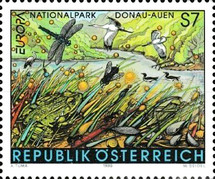 [EUROPA Stamps - Nature Reserves and Parks, Typ BRY]