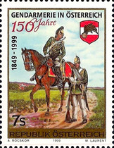 [The 150th Anniversary of the Austrian Federal Gendarmerie, Typ BRZ]
