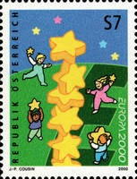 [EUROPA Stamps - Tower of 6 Stars, Typ BTO]