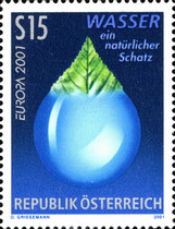 [EUROPA Stamps - Water, Treasure of Nature, Typ BUZ]