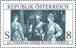 [The 125th Death Anniversary of the painter and draughtsman Joseph Ritter von Fuehrich, Typ BVI]