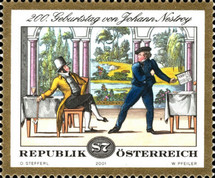[The 200th Anniversary of the Birth of Johann Nestroy, Typ BVK]