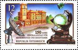 [The 150th Anniversary of Central Institute for Meteorology and Geodynamic, Typ BVM]