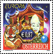 [EUROPA Stamps - The Circus, Typ BWE]