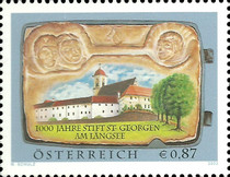 [The 1000th Anniversary of the St. Georgen am Längsee Convent, Typ BXO]
