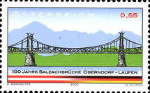 [The 100th Anniversary of the Bridge Oberndorf, Typ BYE]