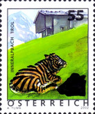 [Postage Stamps of 2002 Surcharged with New Design, Typ CEG]