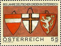[The 800th Anniversary of the Teutonic Order in Austria, Typ CIF]