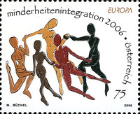 [EUROPA Stamps - Integration through the Eyes of Young People, Typ CJP]