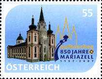 [The 850th Anniversary of the Basilica at Mariazell, Typ CLZ]