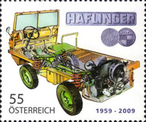 [The 50th Anniversary of the Steyr Puch Haflinger, Typ CRI]