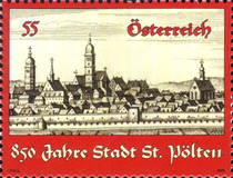 [The 850th anniversary of the founding of St. Pölten, Typ CRQ]