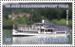 [The 100th Anniversary of the Launch of the Thalia Propeller Steamer, Typ CRR]