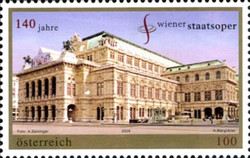 [The 140th Anniversary of the Vienna State Opera House, Typ CRT]