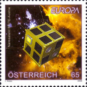 [EUROPA Stamps - Astronomy, Typ CRZ]