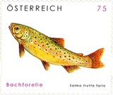 [Animal Protection - Brown Trout & Otter - Self-Adhesive, Typ CTK]