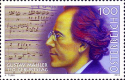 [The 150th Anniversary of the Birth of Gustav Mahler, Typ CUE]