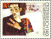 [The 120th Anniversary of the Birth of Egon Schiele, Typ CUK]