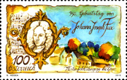 [The 350th Anniversary of the Birth of Johann Joseph Fux, Typ CUP]