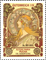 [The 150th Anniversary of the Birth of Alfons Maria Mucha, Typ CUU]