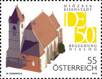[The 50th Anniversary of the Founding of the Diocese of Eisenstadt, Typ CUV]