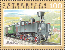 [The 100th Anniversary of the Wechsel Railway, Typ CVC]