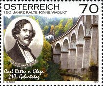 [The 200th Anniversary of the Birth of Karl Ritter, 1802-1860, Typ CYG]