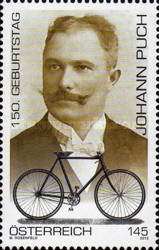 [The 150th Anniversary of the Birth of Johann Puch, 1862-1914, Typ CZD]