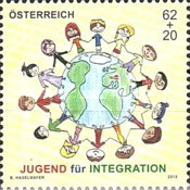 [Year of Youth Philately – Youth for Integration, Typ CZO]