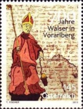 [The 700th Anniversary of the Walser in Vorarlberg, Typ DBW]