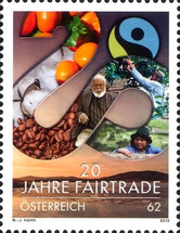 [The 20th Anniversary of Fairtrade in Austria, Typ DCB]