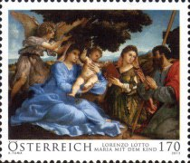 [Old Masters - Mary with Infant by Lorenzo Lotto, Typ DCV]