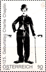 [The 125th Anniversary of the Birth of Charlie Chaplin, 1889-1977, Typ DDX]
